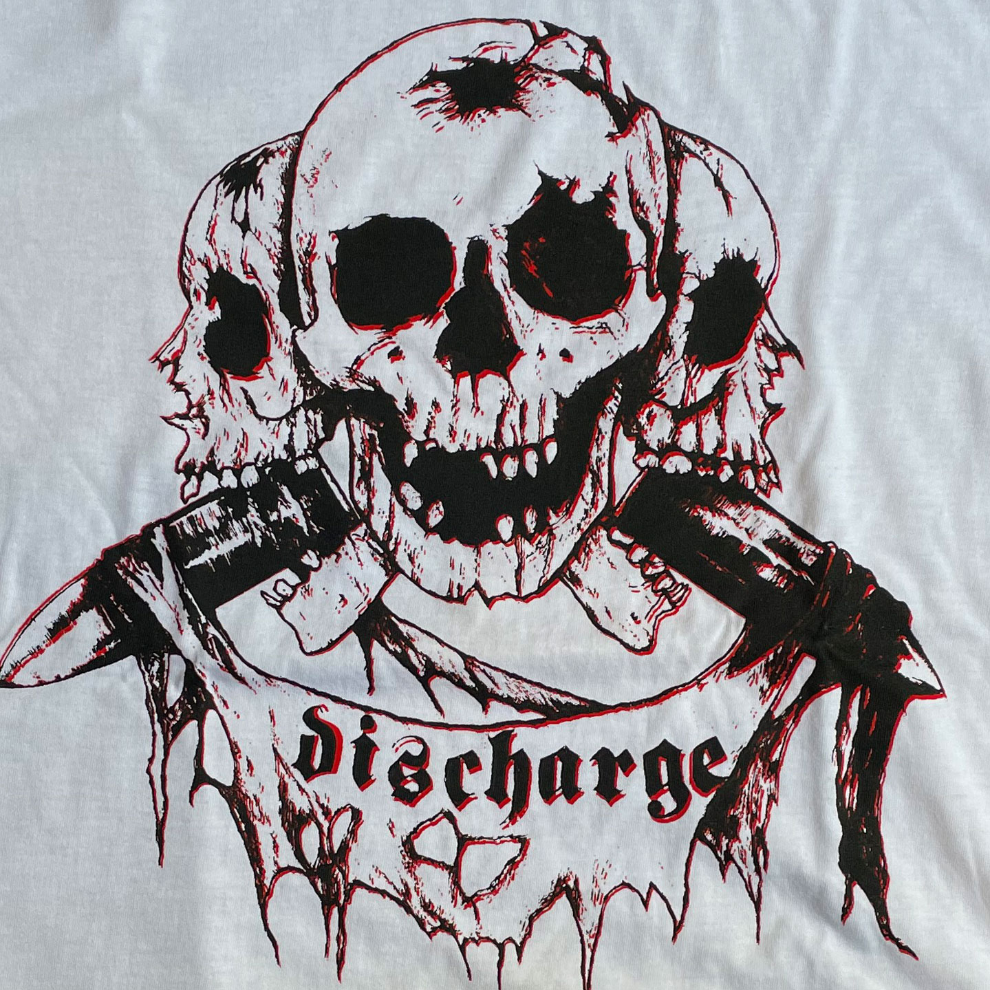 DISCHARGE Tシャツ THE PRICE  OF SILENCE オフィシャル