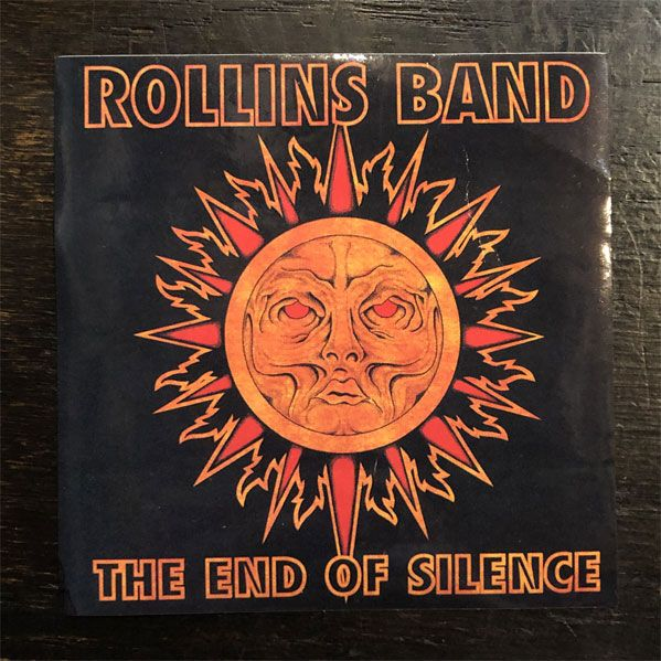 ROLLINS BAND ステッカー THE END OF SILENCE