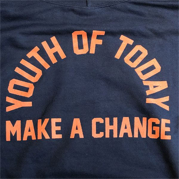YOUTH OF TODAY パーカー MAKE A CHANGE