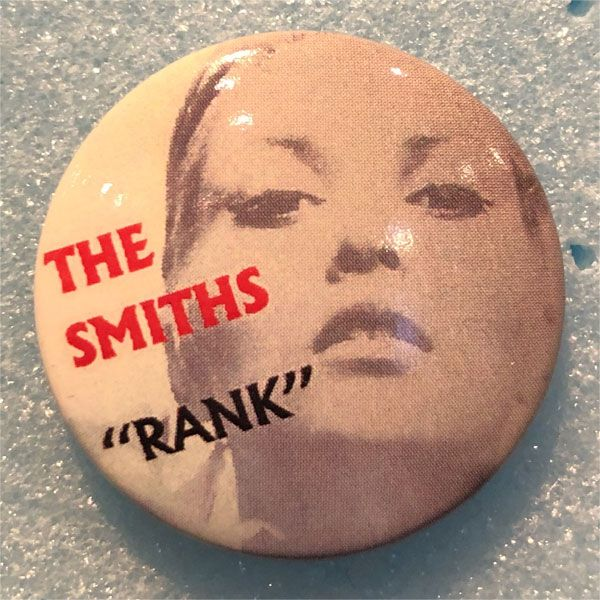 THE SMITHS レア小バッジ RANK