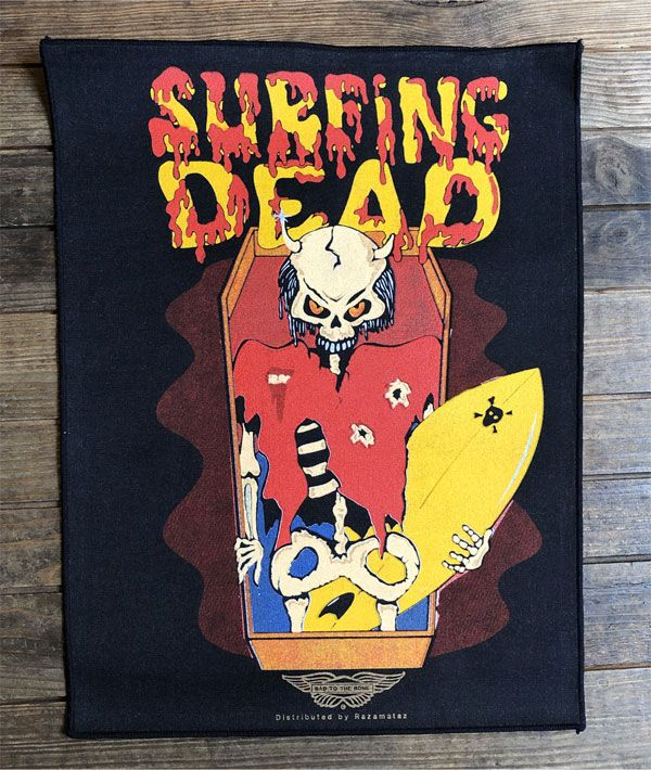 SURFIN'DEAD VINTAGE BACKPATCH