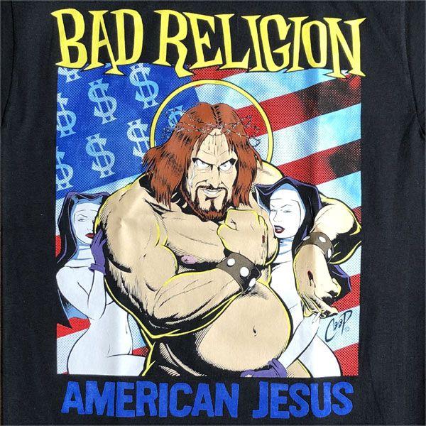 BAD RELIGION Tシャツ AMERICAN JESUS オフィシャル