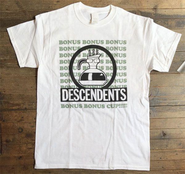 DESCENDENTS Tシャツ BONUS BONUS CUP オフィシャル!