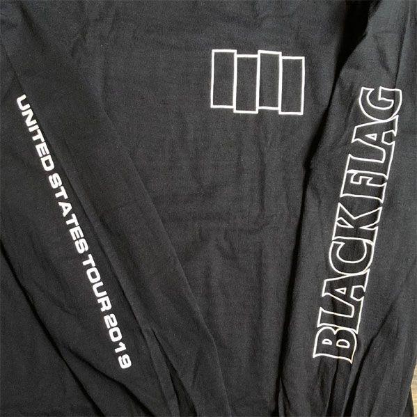 BLACK FLAG ロンT USA TOUR オフィシャル LTD.!!!!