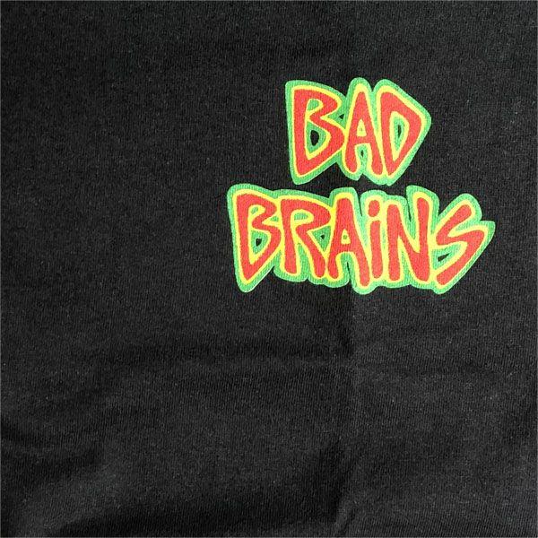BAD BRAINS Tシャツ Front Logo & capital BLACK