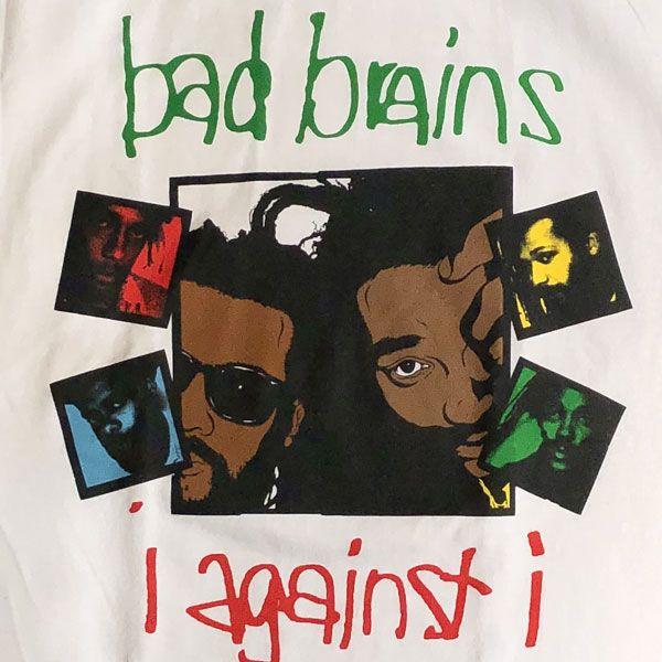BAD BRAINS Tシャツ I AGAINST I WHITE