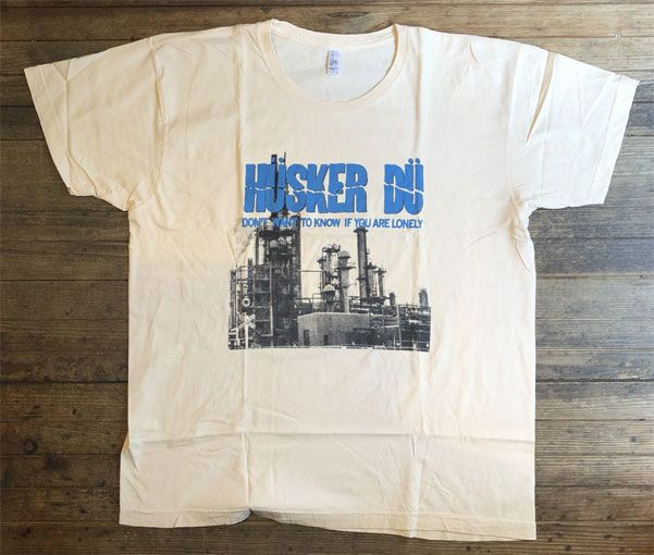 USED! HUSKER DU Tシャツ Don't Want To Know If You Are Lonely