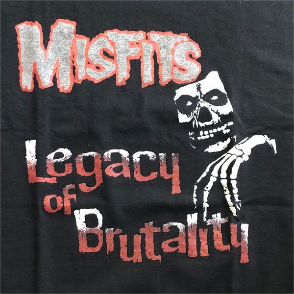 MISFITS Tシャツ Legacy Of Brutality2