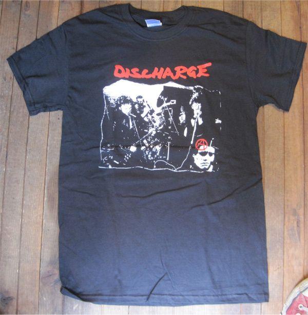 DISCHARGE Tシャツ PHOTO 1