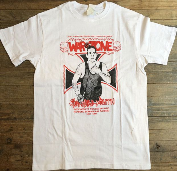 WARZONE Tシャツ SKINHEAD YOUTH