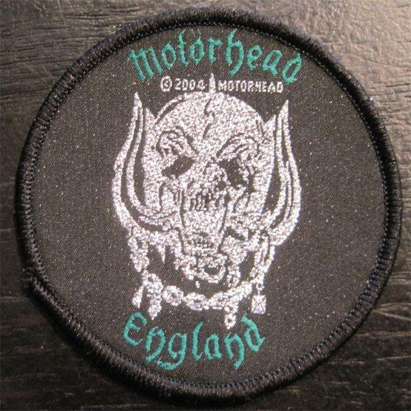 MOTORHEAD DEADSTOCK刺繍ワッペン ENGLAND