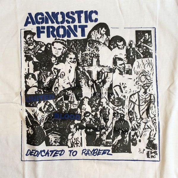 AGNOSTIC FRONT Tシャツ UNITED BLOOD