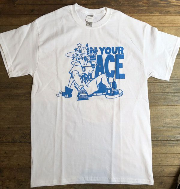 IN YOUR FACE Tシャツ COLLECTIVE WORKS