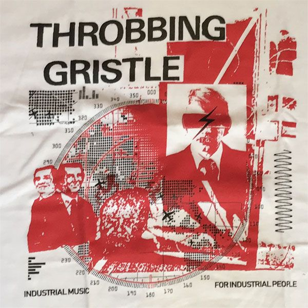 Throbbing Gristle Tシャツ collage
