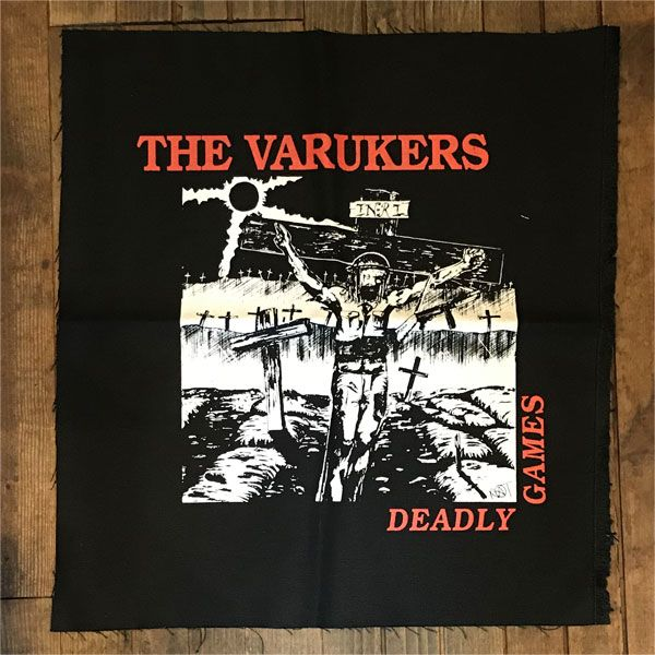 THE VARUKERS BACKPATCH Deadly Games