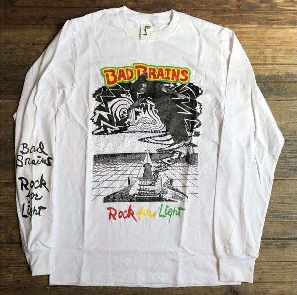 BAD BRAINS ロングスリーブTシャツ ROCK FOR LIGHT