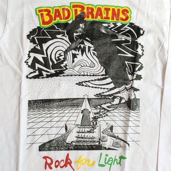 BAD BRAINS ロンT ROCK FOR LIGHT