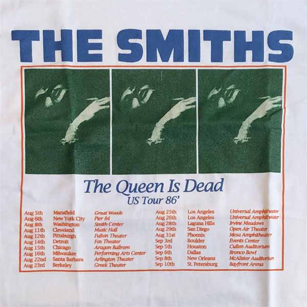 THE SMITHS Tシャツ The Queen Is Dead Tour