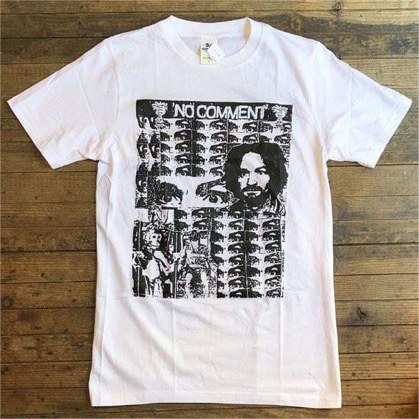 NO COMMENT Tシャツ MANSON