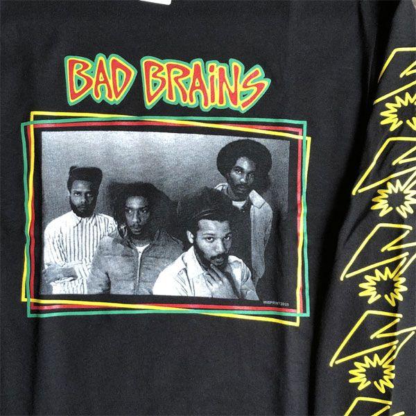 BAD BRAINS ロングスリーブTシャツ PHOTO