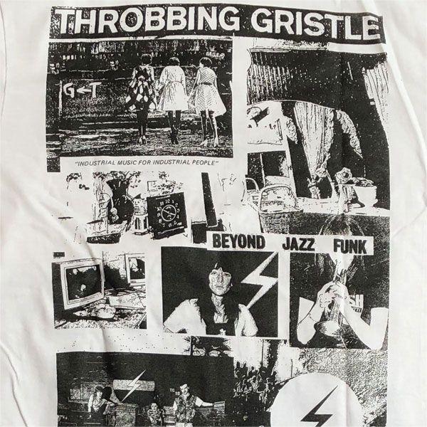 B品! Throbbing Gristle Tシャツ BEYOND JAZZ FUNK