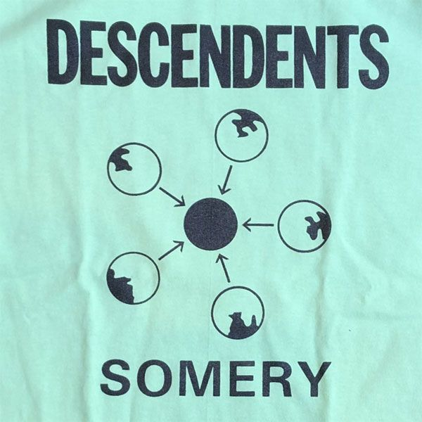 DESCENDENTS Tシャツ SOMERY