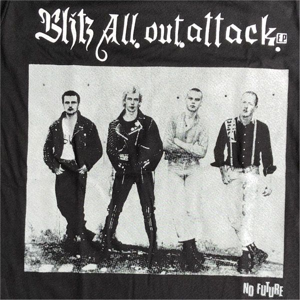 BLITZ Tシャツ All Out Attack