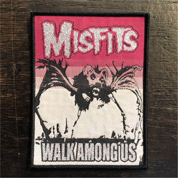 MISFITS 刺繍ワッペン WALK AMONG US