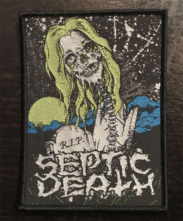 SEPTIC DEATH 刺繍ワッペン R.I.P.