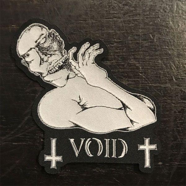 VOID 刺繍ワッペン ダイカット