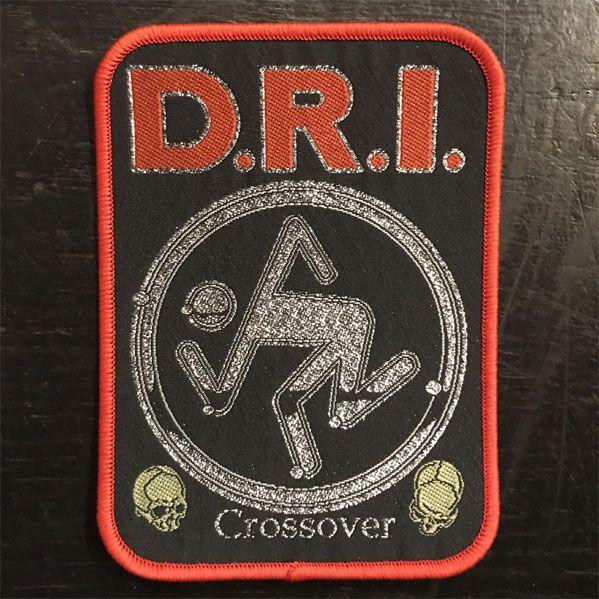 D.R.I. 刺繍ワッペン CROSSOVER