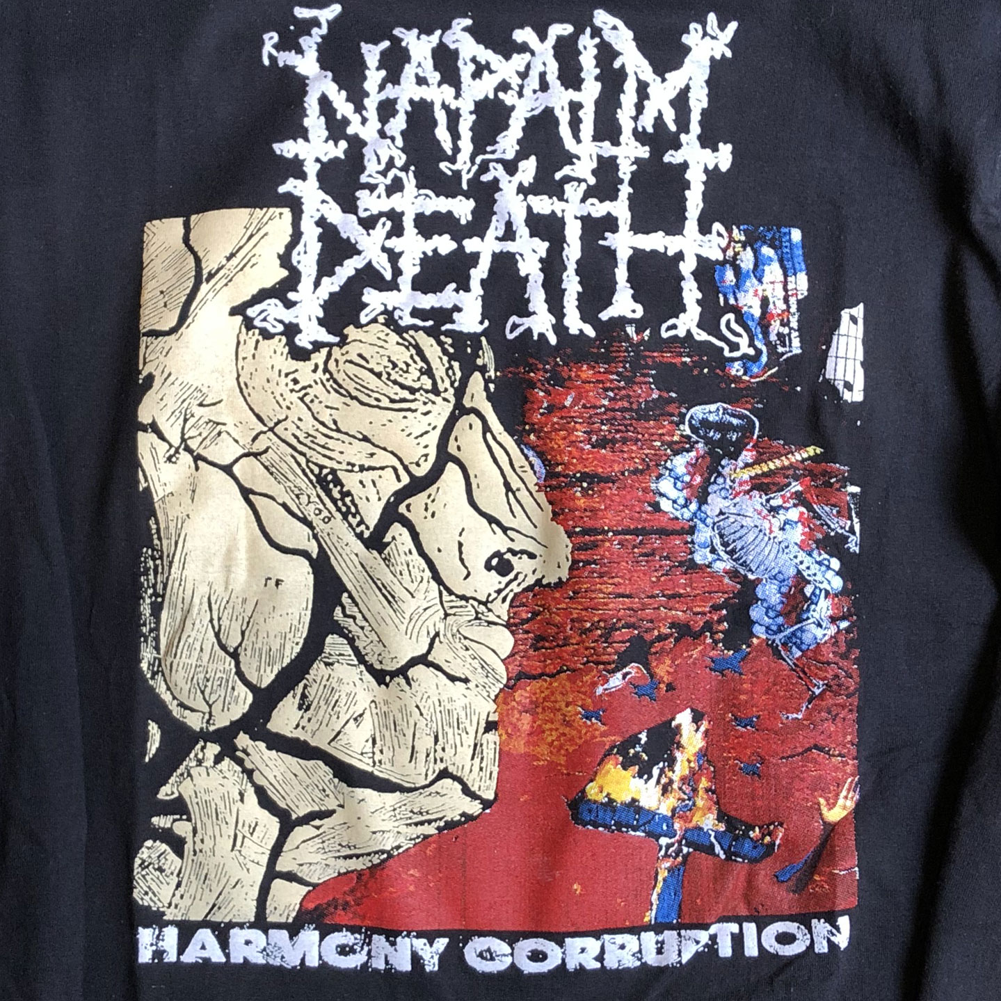 NAPALM DEATH ロンT Harmony Corruption