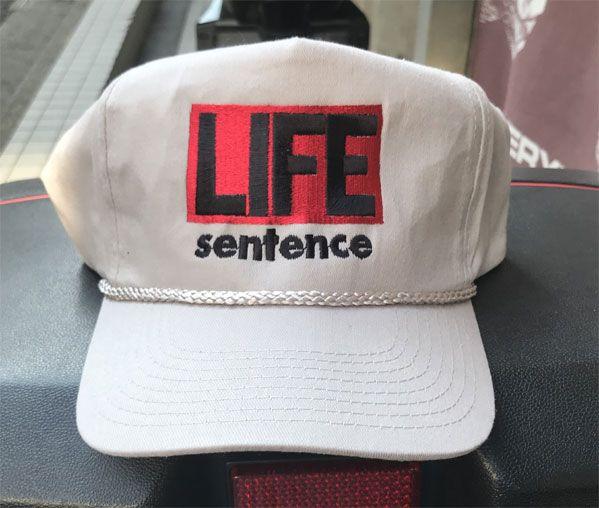 LIFE SENTENCE CAP LOGO