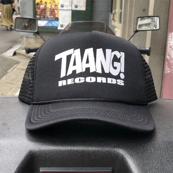 Taang! Records メッシュCAP BLACK