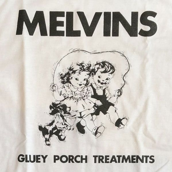 MELVINS ロンT Gluey Porch Treatments