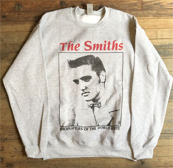 THE SMITHS スウェット Shoplifters Of The World Unite