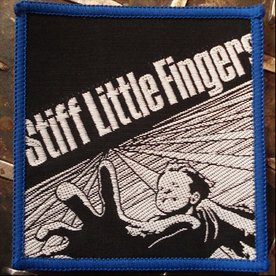 STIFF LITTLE FINGERS レアワッペン GO FOR IT