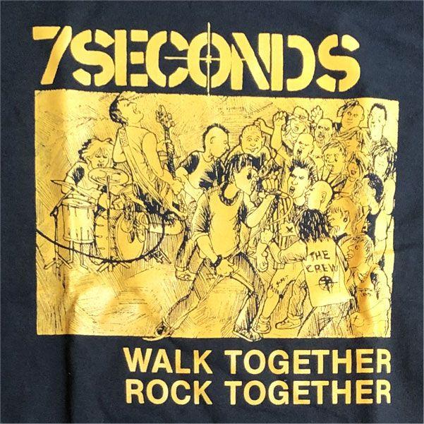 7SECONDS ロンT WALK TOGETHER ROCK TOGETHER