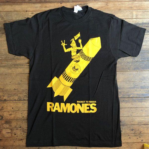 RAMONES Tシャツ Rocket to Russia