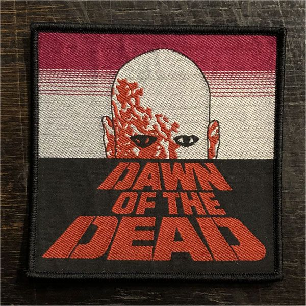 DAWN OF THE DEAD 刺繍ワッペン