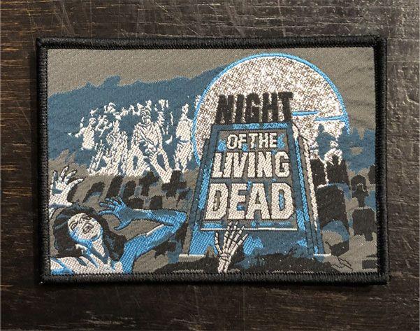 NIGHT OF THE LIVING DEAD 刺繍ワッペン