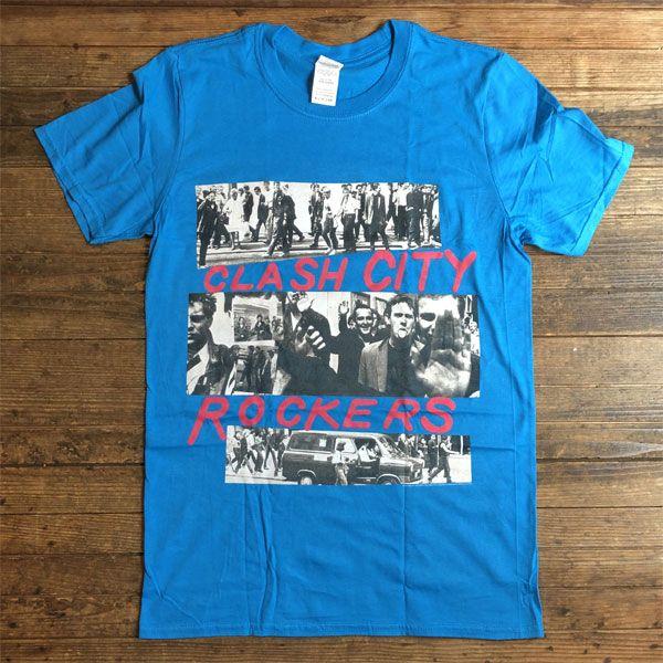 THE CLASH Tシャツ CLASH CITY ROCKERS オフィシャル!