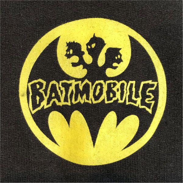 BATMOBILE ZIPパーカー オフィシャル