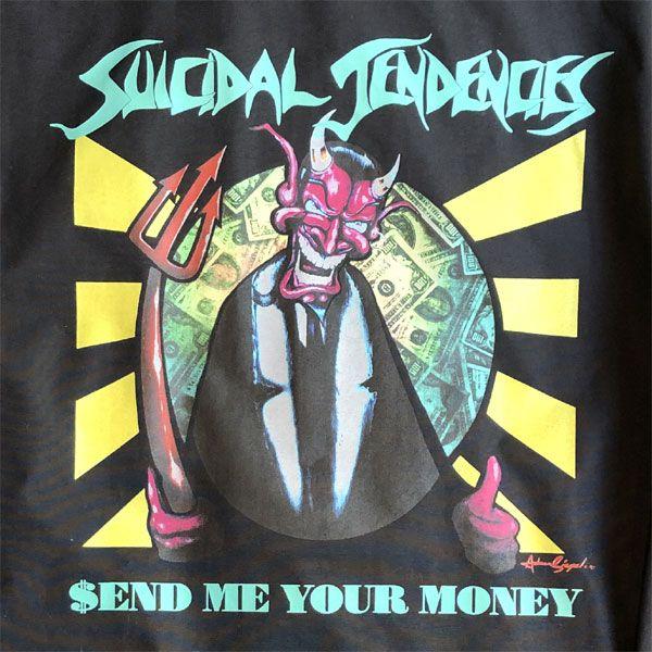 SUICIDAL TENDENCIES コーチジャケット SEND ME YOUR MONEY
