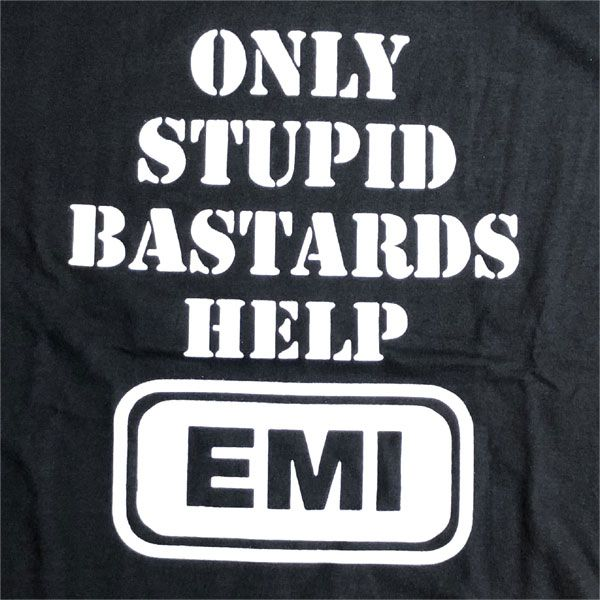 CONFLICT Tシャツ Only Stupid Bastards Help EMI