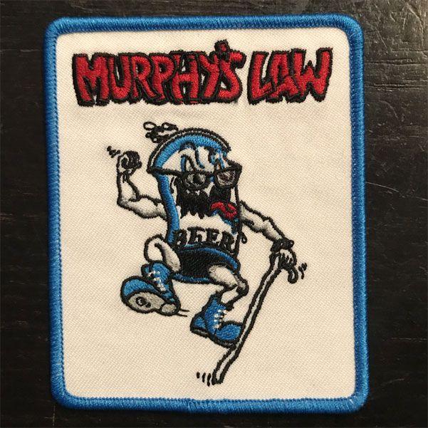 MURPHY'S LAW 刺繍ワッペン KILLER BEER2