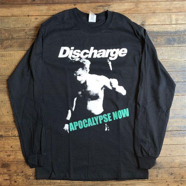 DISCHARGE ロングスリーブTシャツ APOCALYPSE NOW