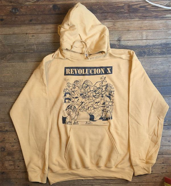 REVOLUCION X パーカー