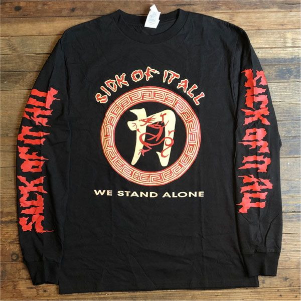 SICK OF IT ALL ロンT WE STAND ALONE