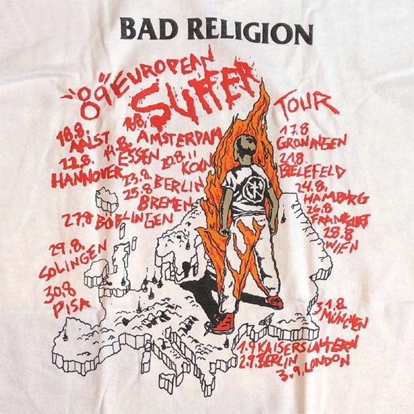 BAD RELIGION Tシャツ SUFFER TOUR オフィシャル!